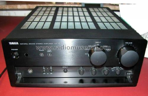 natural sound stereo amplifier ax 10 ampl mixer yamaha co. Black Bedroom Furniture Sets. Home Design Ideas