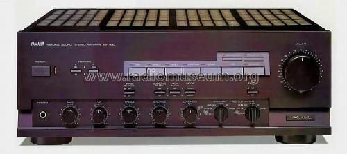 Natural Sound Stereo Amplifier AX-900; Yamaha Co.; (ID = 638421) Ampl/Mixer