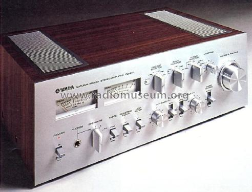 natural sound stereo amplifier ca 810 ampl mixer yamaha co rh radiomuseum org yamaha ct-810 service manual Yamaha CA 810 Amplifier