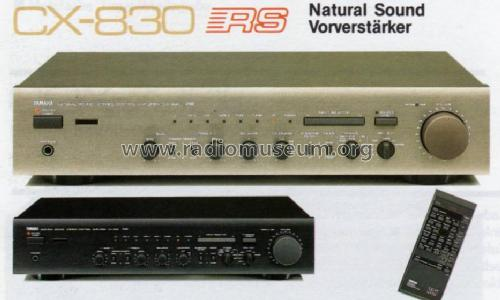 Natural Sound Stereo Control Amplifier CX-830; Yamaha Co.; (ID = 1056602) Ampl/Mixer