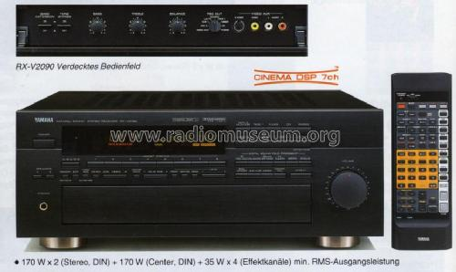 Natural Sound Stereo Receiver RX-V2090; Yamaha Co.; (ID = 1097816) Radio