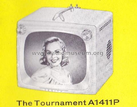 A1411P Ch= 15A26; Zenith Radio Corp.; (ID = 1737765) Television