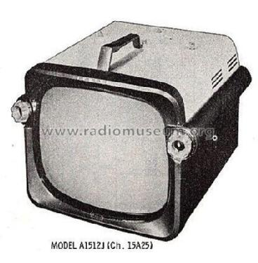 A1512J Ch= 15A25; Zenith Radio Corp.; (ID = 2456812) Television