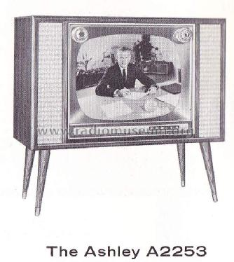 A2253R Ch= 17A30; Zenith Radio Corp.; (ID = 1737824) Television