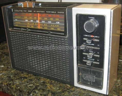 RF88Y Five Band AC-Battery Portable Radio Radio Zenith Radio
