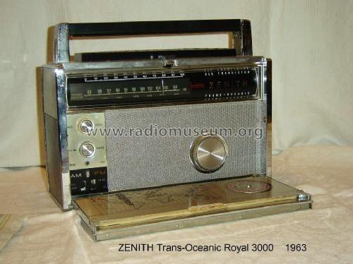 Trans-Oceanic Royal 3000 Ch= 12KT40Z3; Zenith Radio Corp.; (ID = 1371406) Radio