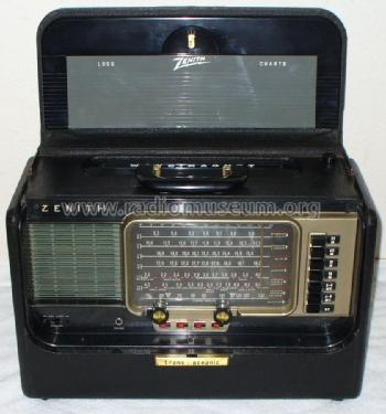Transoceanic B600 Ch6a40 Black Radio Zenith Corp. Transoceanic B600 Ch6a40 Zenith Radio Corp Id. Wiring. Zenith Tube Radio Schematics 10g 130 At Scoala.co