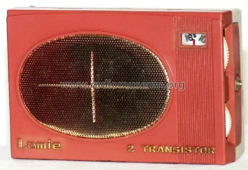 Lamie 2 Transistor Boy's Radio TR-263; Zephyr Co., Ltd.; (ID = 685715) Radio