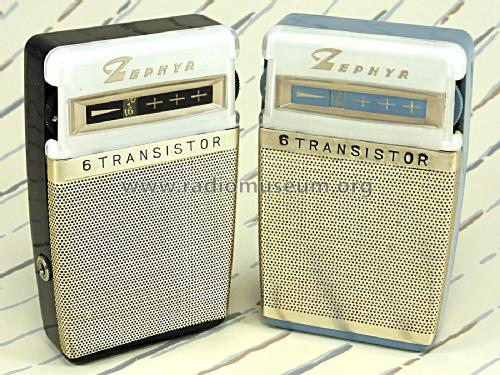 6 Transistor Radio ZR-740; Zephyr Co., Ltd.; (ID = 2244076) Radio