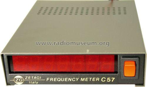 Sound Frequency Meter : Frequency meter c equipment zetagi s p a concorezzo mil