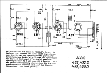 mit TR 432; Albis, Albiswerke AG (ID = 16277) Radio