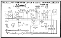 6S12 Ch= 6S1; Admiral brand (ID = 104908) Radio