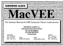 Macintosh VMEbus controller V370; Albis, Albiswerke AG (ID = 2320268) Computer & periphery