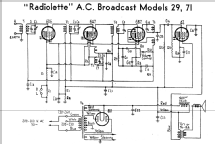 Radiolette 29; Amalgamated Wireless (ID = 164406) Radio