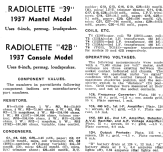 Radiolette 39C Ch= 39; Amalgamated Wireless (ID = 1943206) Radio