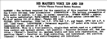 329 Ch= 559DL; His Master's Voice (ID = 770699) Radio