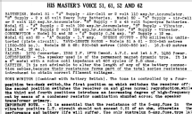 61 Ch= 459B; His Master's Voice (ID = 719353) Radio