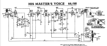 88 Ch= 538D; His Master's Voice (ID = 712527) Radio
