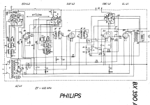 BX390A; Philips; Eindhoven (ID = 19536) Radio