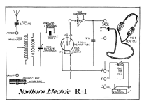 Receiver R-1; Northern Electric Co (ID = 1173521) Radio