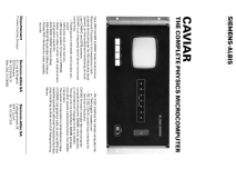 CAVIAR Microcomputer 260; Albis, Albiswerke AG (ID = 2316188) Computer & periphery