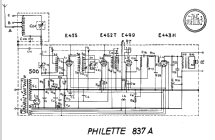 Philette Super inductance 837A; Philips - Schweiz (ID = 21974) Radio
