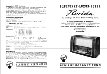 Florida H 3054; Blaupunkt Ideal, (ID = 138517) Radio