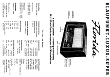 Florida H 3054; Blaupunkt Ideal, (ID = 66658) Radio