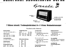 Granada 3D 2220; Blaupunkt Ideal, (ID = 84713) Radio