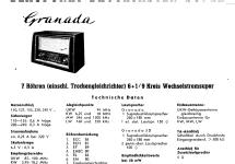 Granada 2221; Blaupunkt Ideal, (ID = 84918) Radio