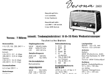 Verona 2605; Blaupunkt Ideal, (ID = 111924) Radio