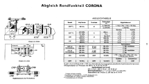 Corona 7245 Rdf.-Ch= Milano; Blaupunkt Ideal, (ID = 2514862) TV Radio