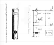 Kondensator-Mikrofon KM84 Microphone/PU Neumann, Georg,