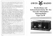 E11W; Owin; Hannover (ID = 13284) Radio