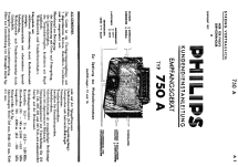 750A-14; Philips akc. spol., (ID = 1947321) Radio