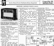 Capella 51 BD712A-22; Philips Radios - (ID = 1014033) Radio