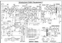 Freudenstadt 7 Radio SABA; Villingen, build 1956/1957, 89 pi