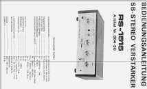 RS-1515; SB ELEKTRONIK, (ID = 354239) Ampl/Mixer