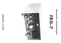 Communications Receiver FRG-7; Sommerkamp (ID = 1593157) Amateur-R