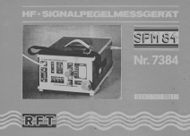 HF-Signalpegelmeßgerät SPM84; Antennenwerke Bad (ID = 2099364) Equipment