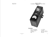 Medidor de impedancias de antena MI-1; Retex S.A.; (ID = 1535557) Equipment
