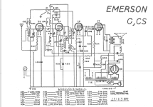 CS ; Emerson Radio & (ID = 15788) Radio