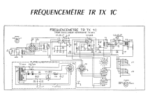 Frequencemetre TR-TX-1C; AME A.M.E., Ateliers (ID = 993453) Equipment