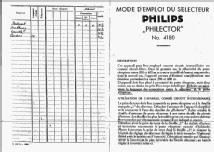Philector 4180; Philips Radios - (ID = 1767038) mod-past25
