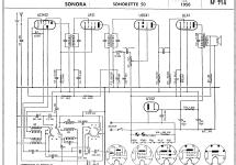 Sonorette 50; Sonora SA, Radiocin� (ID = 157794) Radio