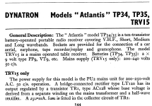 Atlantis TP34; Dynatron Radio Ltd., (ID = 810013) Radio
