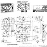 Quad 33 Ampl/Mixer Acoustical Manufacturing Co. Ltd, The; Hu Quad Schematic on