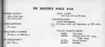 Little Nipper A13A; His Master's Voice (ID = 2415914) Radio
