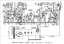 BI561A; Philips Italy; (ID = 1109620) Radio