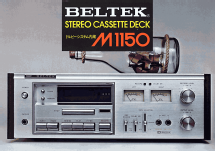 Stereo Cassette Deck M1150; Beltek Corporation; (ID = 2082785) R-Player
